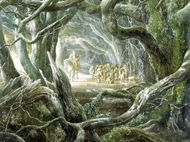 Farewell on the edge of Mirkwood
