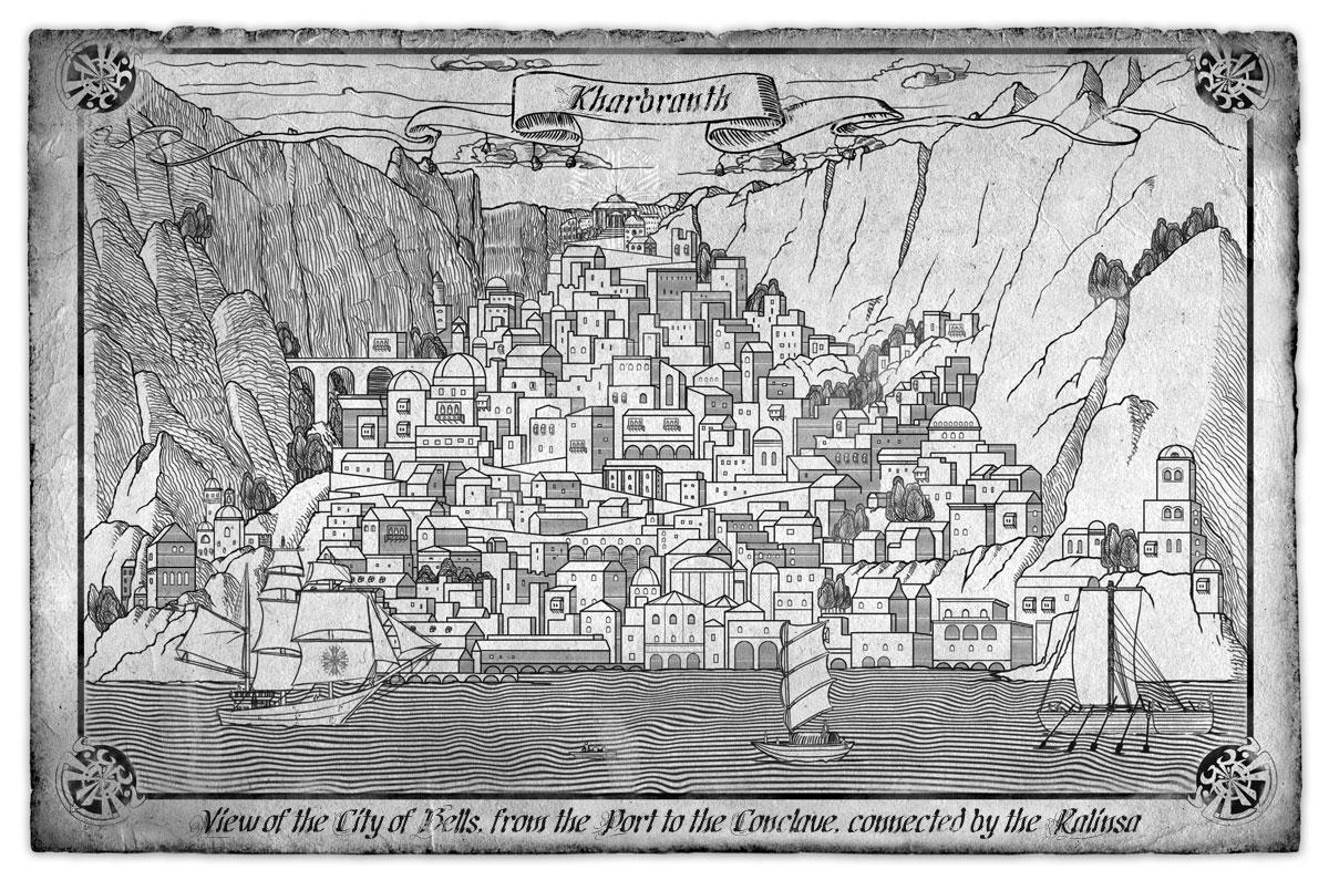схема карты королевства сказочного