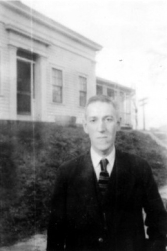 Говард Лавкрафт в 1935 г.