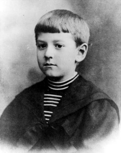 Лавкрафт в возрасте 8-10 лет