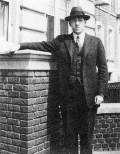 Лавкрафт в Нью-Йорке(?) 1922 г.