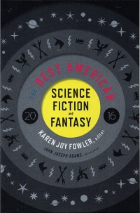 «The Best American Science Fiction and Fantasy 2016»