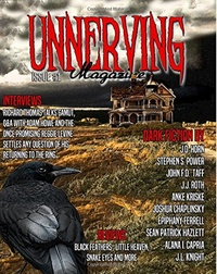 «Unnerving Magazine, Issue #1, 2016»