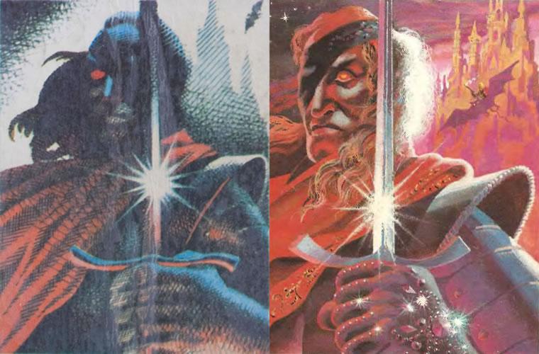 Сравнение изображений с этого издания «Повелителей мечей» и переиздания